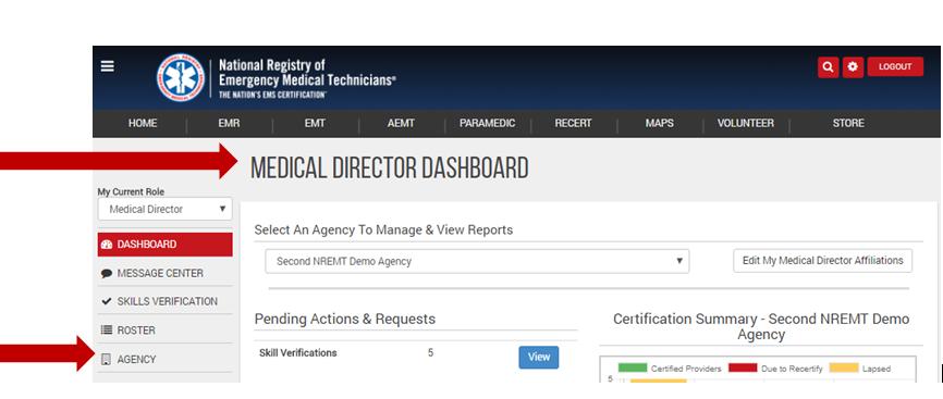 NREMT Information for Agency Medical Directors
