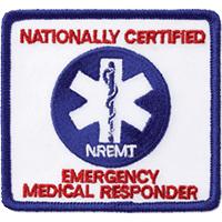 National Registry of EMTs NREMT Decal